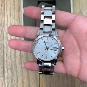 Burberry Accessories - Burberry stainless steel watch